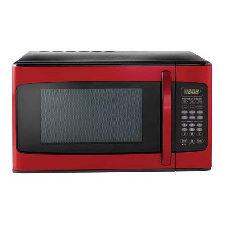 Hamilton Beach 1.1 cu ft Microwave (1.1 Cubic Feet, Red)