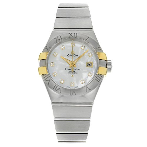 Omega Constellation 123.20.31.20.55.004 Steel & Gold Auto...