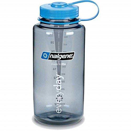 Nalgene Tritan Wide Mouth BPA-Free Water Bottle, US Flag, 1