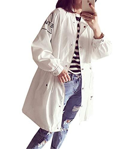 numérique manches manteau pour à élégant longues Manteaux Eté Betrothales légère veste long de mode Printemps femmes imprimé Xqwq6v8xc