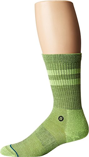 Stance Mens Uncommon Solids Joven Socks (Anthem Green, Medium) by Stance