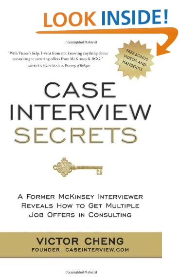 Case studies are the hardest part of the consulting interview