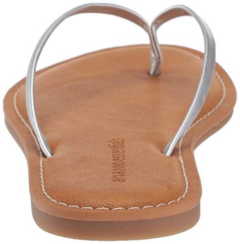 Donna Essentials Argento Sal Women's Thong Flip Amazon Flops Sandal P06wT6nq
