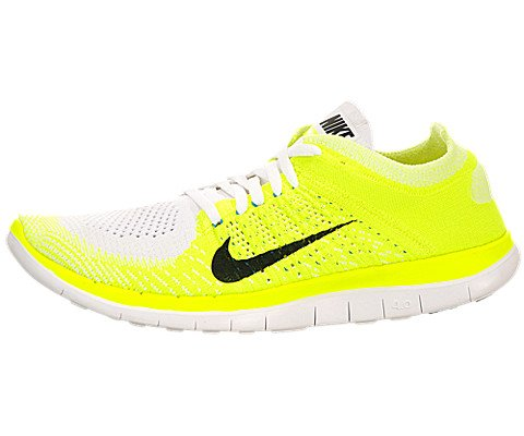 online retailer 9d123 9fc01 Galleon - Nike Free 4.0 Flyknit Women s Running Shoes, 7.5, Green