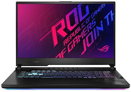 ASUS ROG Strix G17 17.3″ Full HD 120Hz Gaming Notebook Computer, Intel Core i7-10750H 2.6GHz, 8GB RAM, 512GB SSD, NVIDIA GeForce GTX 1660 Ti 6GB, Windows 10 Home, Black