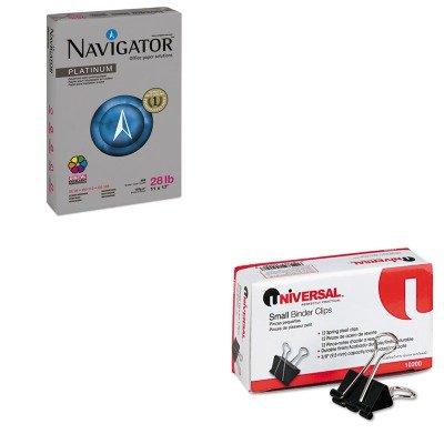 KITSNANPL1728UNV10200 - Value Kit - Navigator Platinum Paper (SNANPL1728) and Universal Small Binder Clips (UNV10200)
