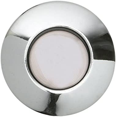 Sink Top Push Button Replacement For Insinkerator Air Switch Garbage/Waste  Disposal Outlet By Essential Values (Chrome Cover)
