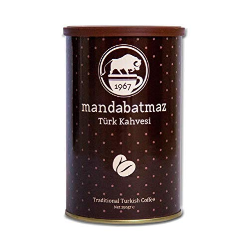 Gourmet Turkish Coffee - Traditional Ground Roasted From Fresh Coffee Beans (8.8 Oz / 250 Gr) (Best Turkish Coffee In Istanbul)