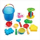 Sand Bucket Beach Toy Play Set