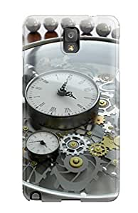 Tpu Case Cover For Galaxy Note 3 Strong Protect Case - Watch Design