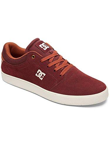 Uomo Uomo Shoe a Tan Collo Basso M DCS Sneaker Sneaker Crisis Rouge Burgundy qEwn0PI1