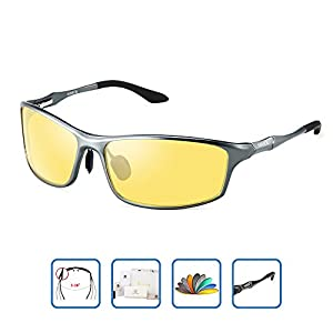 HD Night Vision Glasses for Driving for men women Polarized Anti-glare night driving glasses (10 Colors )