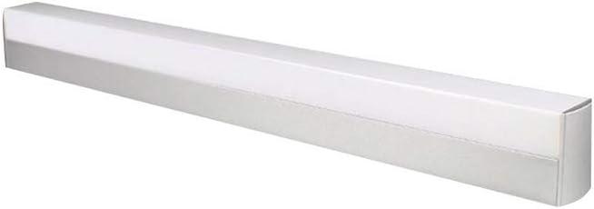 Aseo Sencilla Luz De La Lámpara De Maquillaje Tocador Tocador Espejo Mueble De Baño Cuarto De Baño LED Frontal Moderna Lámpara De Pared R/20/01/04 (Color : White, Size : 70cm 16w)
