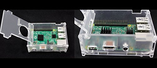 7 in 1 Kit Raspberry Pi 3 Module+16G Card+3.5'' Touch Screen+US Plug Power+Case by Generic (Image #4)