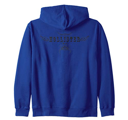 HOLLISTER CA., HOLLISTER CA. INK, Zip Hoodie (White Hollister Sweatshirt)