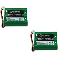 GE TL-26506 Cordless Phone Battery Combo-Pack includes: 2 x SDCP-H315 Batteries