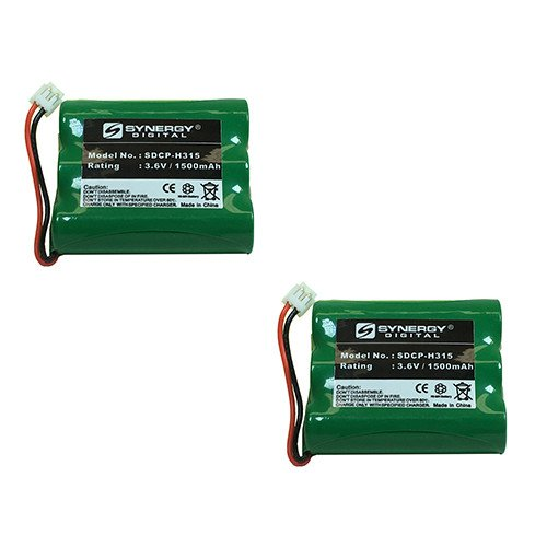 Vtech 5864 Cordless Phone Battery Combo-Pack includes: 2 x SDCP-H315 Batteries by Synergy Digital