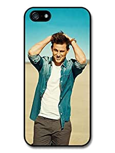 Channing Tatum Beach Posing Actor Portrait case for iPhone 5 5S A1308