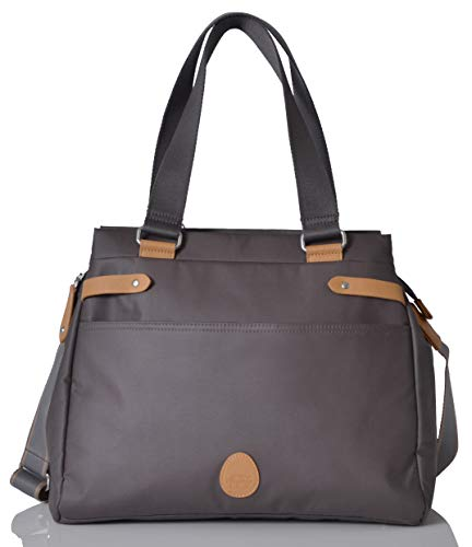 78142dff3a2c6 PacaPod Richmond Slate Designer Baby Changing Bag - Luxury Slate Grey 3 in  1 Organising System