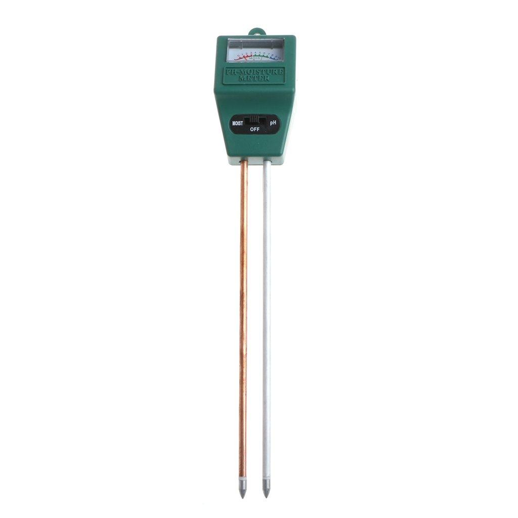 JAGETRADE 2-In-1 PH Tester Soil Water Moisture Light Analized Test Meter Detector Garden