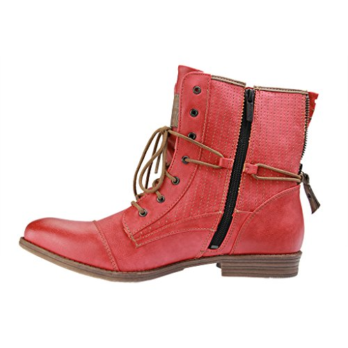 259 femme Mustang Classiques Bottes 503 1157 Rot 5 Rot XnSHS7Fqw