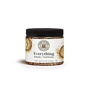 King Arthur, Everything Bagel Topping, Certified Kosher, 8 Ounces (Packaging May Vary)