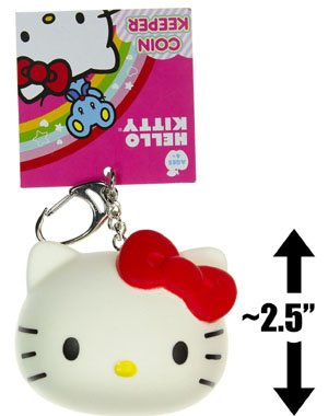 Hello Kitty Coin Keeper Keychain (Hello Kitty Key Ring)