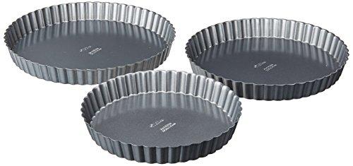 Round Quiche Pan (Wilton Nonstick Round 3 Piece Pan Set)