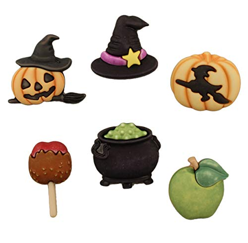 Buttons Galore Halloween Craft & Sewing Buttons - The Witching Hour - Set of 3 Cards