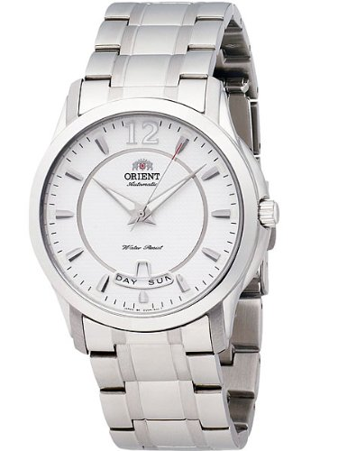 orient white dial watch - 6