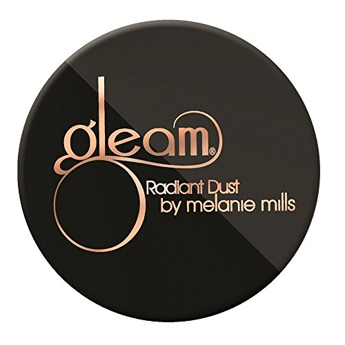 Melanie Mills Hollywood Gleam Radiant Dust Bronzing Powder - Rose Gold, 30g