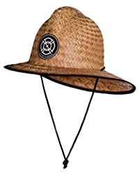 Saint Florian Clothing Straw Firefighter Hat- Large/XL 60cm