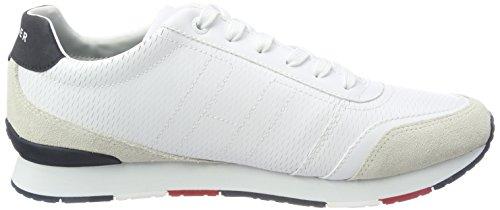 Tommy Hilfiger Herren L2285eeds 2c1 Sneaker Weiß (White)