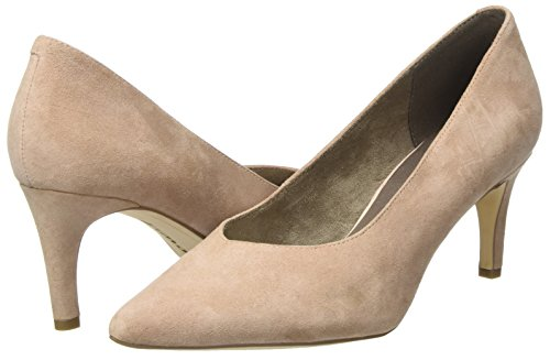 Suede old Escarpins 22430 Tamaris Femme Rose wq1vw8P