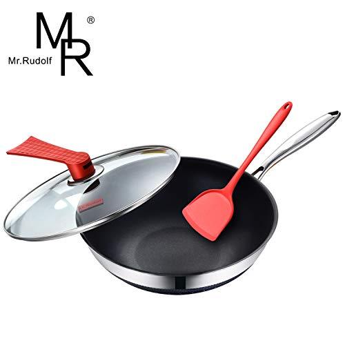 Rudolf Nonstick Stainless Stir Fry Dishwasher product image