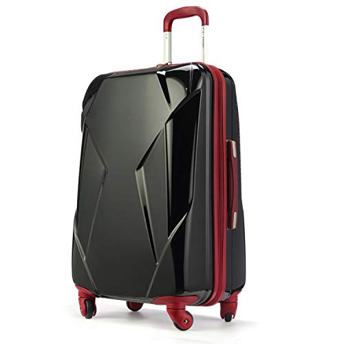 Travel Bag Chariot (Chariot Luggage Lightweight Hardshell Suitcase Rolling Trunk with Spinner Wheels)