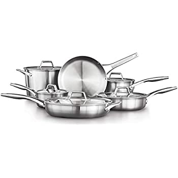 Amazon Com Calphalon Contemporary Stainless 1 1 2 Quart