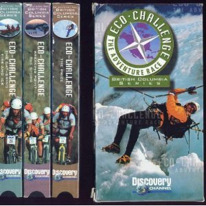Eco Challenge  British Columbia Series  Vhs