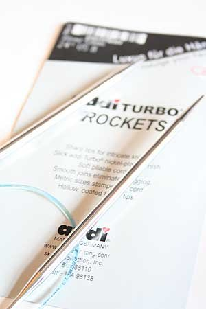 Addi Skacel Turbo Sock Rockets Circular Needles 16