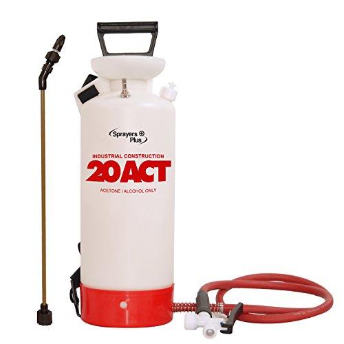 - Sprayers Plus Construction Acetone Sprayer, 2 gal