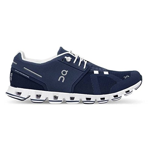 - On Running Womens Cloud Road Shoes Denim/White SZ 7