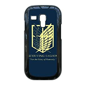 Cartoon Attack On Titan for Samsung Galaxy S3 Mini i8190 Phone Case Cover 66TY448318