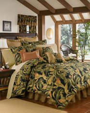 Standard Comforter Thomasville - La Selva Black Queen 4 Piece Comforter Set by Thomasville , 18