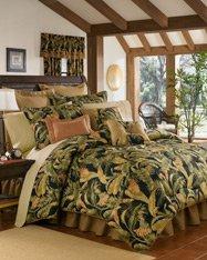 La Selva Black Queen 4 Piece Comforter Set by Thomasville , 18
