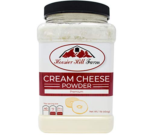 Hoosier Hill Farm Cream Cheese powder, 1 Lb. Gluten Free and rBGH and rBST free. (Best Vegan Whipped Cream Recipe)