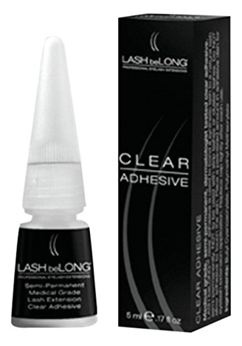 z.LASH beLONG CLEAR Semi-Permanent Medical Grade Adhesive 5ml