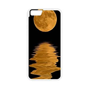 Good Night Moon Pattern Hard Plastic Back Cover Case for Iphone 6 4.7 Case TSL323803