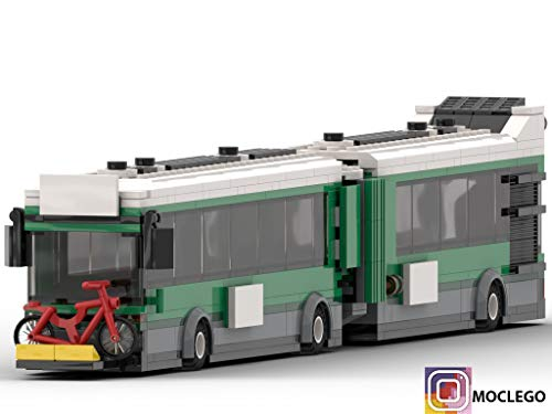 Amazon com: Articulated bus transit (Instruction Only): MOC
