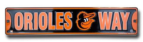 Dixie Orioles Way Baltimore Orioles Street Sign