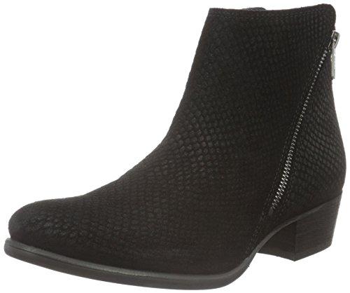 Sofie Schnoor Low Boot W.Side Zipper, Zapatillas de Estar por Casa para Mujer Negro
